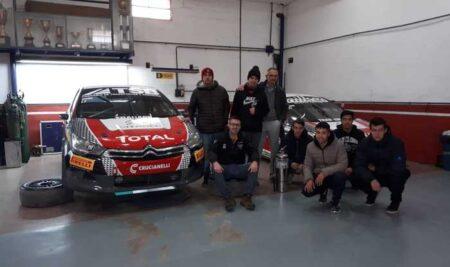 Visita al Equipo Citroën Total GC